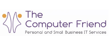 The Computer friend logo personal and small business IT services